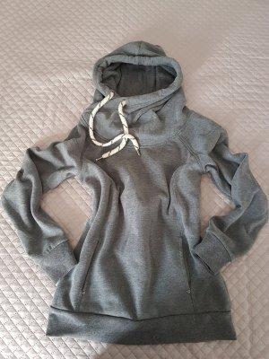 Only Hoodie Kaputze Pullover grau S