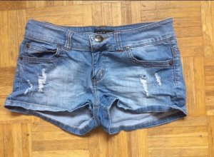 Only Shorts azul celeste