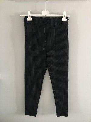 Only Pantalone a pieghe nero-bianco