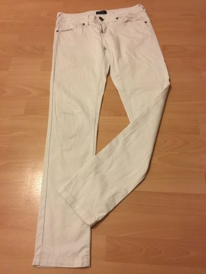Only Hose weiß W 34 L 32 Röhre Bootcut S Jeans