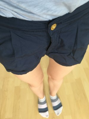 Only Hot Pants dark blue-gold-colored