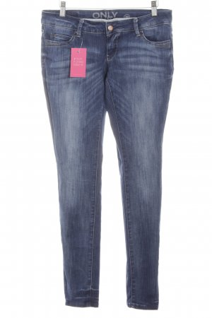 Only Hüftjeans blau Casual-Look