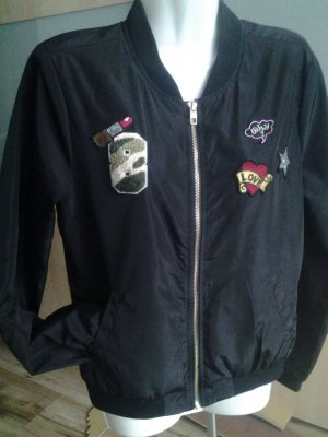 Only Bomber Jacket black polyester