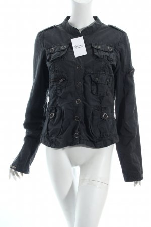 Only Jacke grau Casual-Look