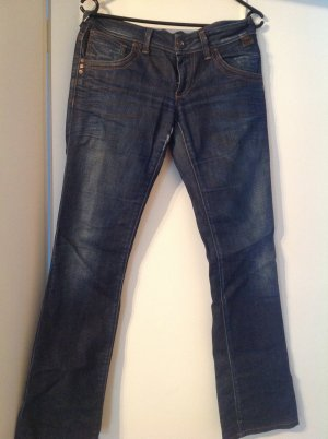 Be only Low Rise Jeans dark blue