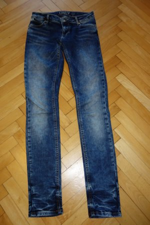 Only Jeans slim bleu