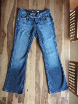 """Only Jeans, Bootcut, blau mit Waschung, 42/34"""", low-rise – neu, ungetragen"""