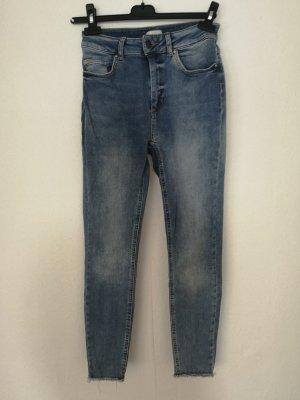 Only 7/8 Length Jeans light blue