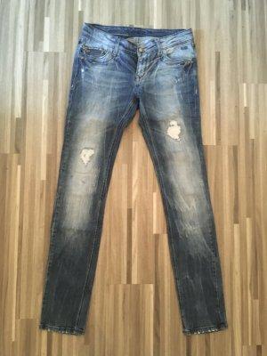 Only Jeans / Gr. 28/34 Nietenverzierung  ***Last Sale***