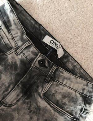 Only Jeans - grau&schwarz&weiß