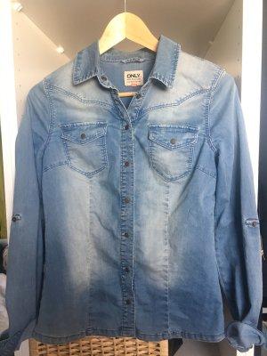 Only Camicia denim azzurro