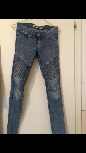 Only Jeans im biker Stil