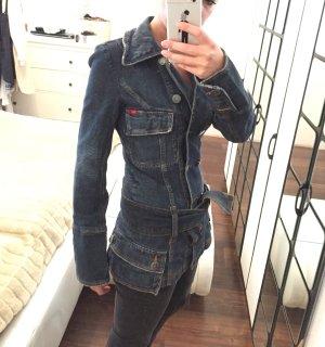 Only Jeans Jacke Gr. S (36) mit und ohne Gürtel