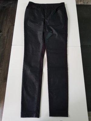 Only Jeans mit Lederbesatz