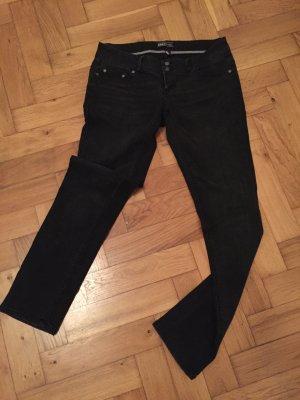 Only Jeans schwarz-grau in Größe 29/32