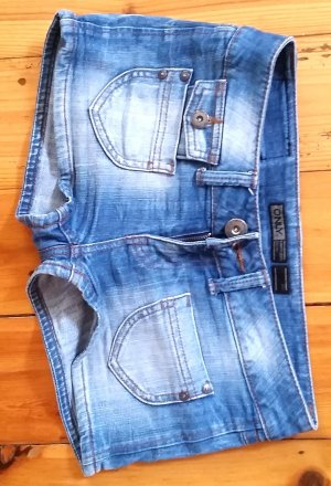 Only*Jeans Shorts*Sammy Ebba Denim Lee Hotpants*blau*W 27
