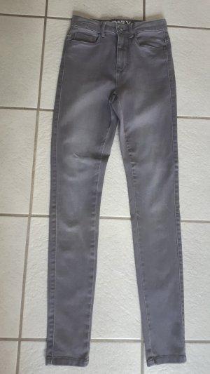 Only Jeans Skinny grau, XS/30