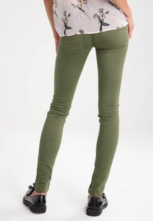 "only jeans Skinny Push UP Hose Super Slim Röhrer Gr 42/L L32 Khaki ""Freddy"" Neu"
