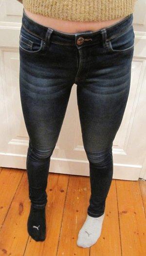 ONLY Jeans Skinny Reg. Soft Ultimate Dunkelblau Röhre