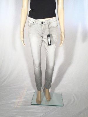 Only Jeans Skinny Röhre grau Gr. 27 NEU NP 60€