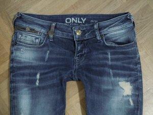 Only Jeans SL SK ZIP DNM Skinny/Low Waist 28/32 - 34 cm Schritthöhe16,5 cm Jeans fällt klein aus,siehe Maße