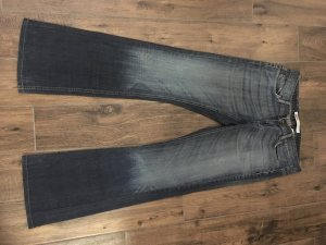 Only Boot Cut Jeans blue cotton