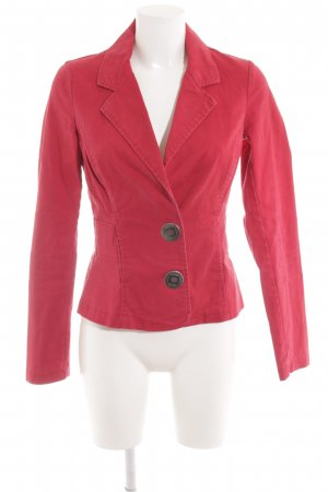 Only Denim Blazer red casual look