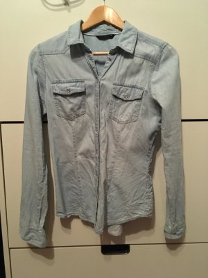 ONLY Jeanshemd Jeansbluse Gr. 36