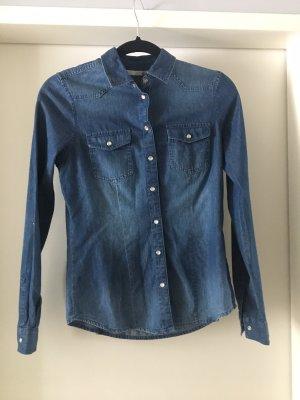 Only Denim Shirt dark blue