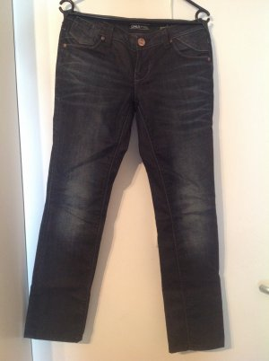Be only Low Rise jeans donkerblauw
