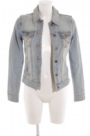 Only Jeansjacke blassblau-himmelblau Washed-Optik