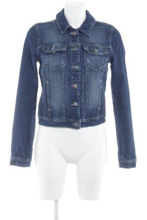 Only Jeansjacke blau Jeans-Optik
