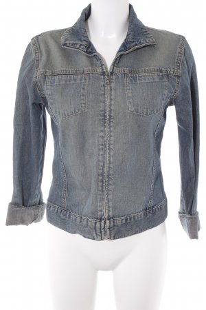 Only Jeansjacke blau Jeans-Optik