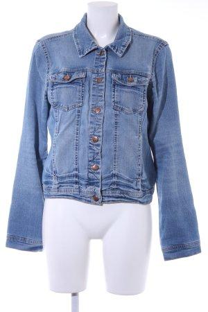 Only Jeansjacke blau Street-Fashion-Look