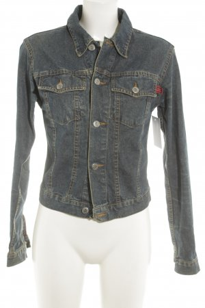 Only Jeansjacke dunkelblau Casual-Look