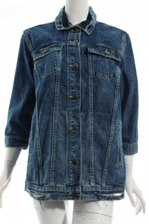 "Only Jeansjacke ""Eva Oversized Denim Jacket"" blau"