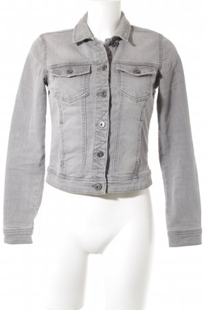Only Jeansjacke grau Casual-Look