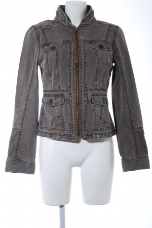 Only Jeansjacke graubraun Casual-Look