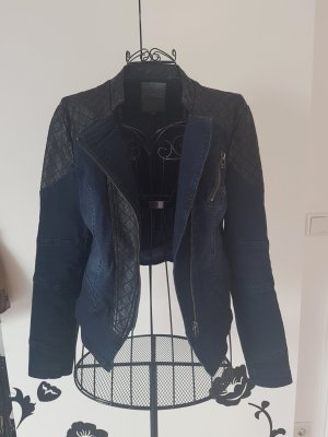 Only Denim Jacket black-dark blue