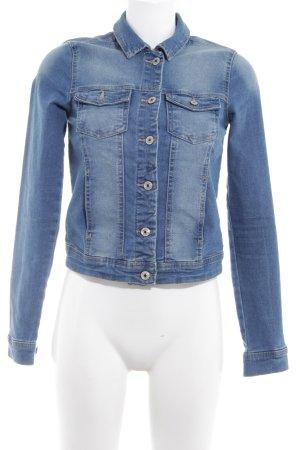 Only Jeansjacke hellblau Jeans-Optik