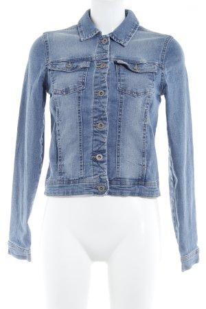 Only Jeansjacke himmelblau Jeans-Optik