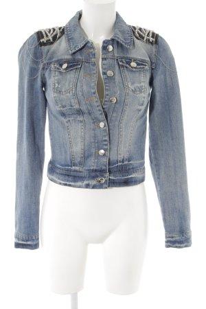 Only Jeansjacke kornblumenblau Jeans-Optik