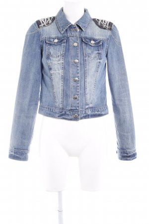 Only Jeansjacke mehrfarbig Casual-Look