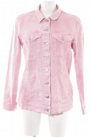 Only Jeansjacke rosa Casual-Look