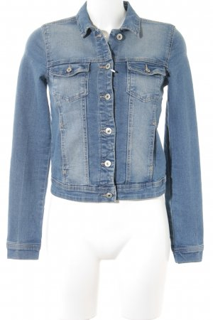 Only Jeansjacke stahlblau Casual-Look