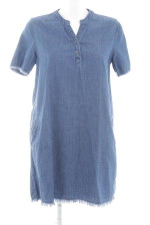 Only Jeanskleid neonblau Casual-Look