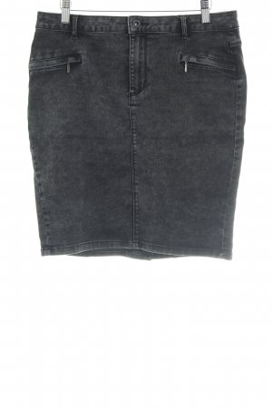 Only Jeansrock anthrazit Casual-Look