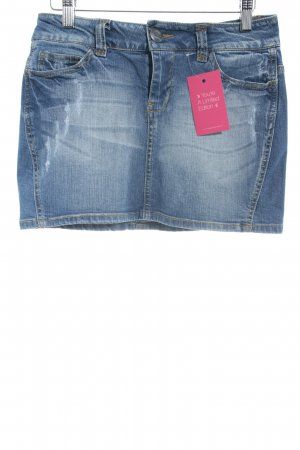 Only Jeansrock himmelblau Casual-Look