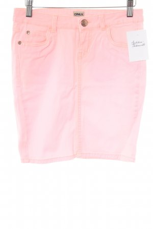 Only Jeansrock neonpink Casual-Look