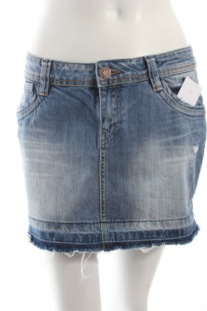 Only Jeansrock stahlblau Casual-Look